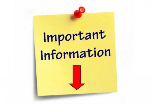 Information du comité